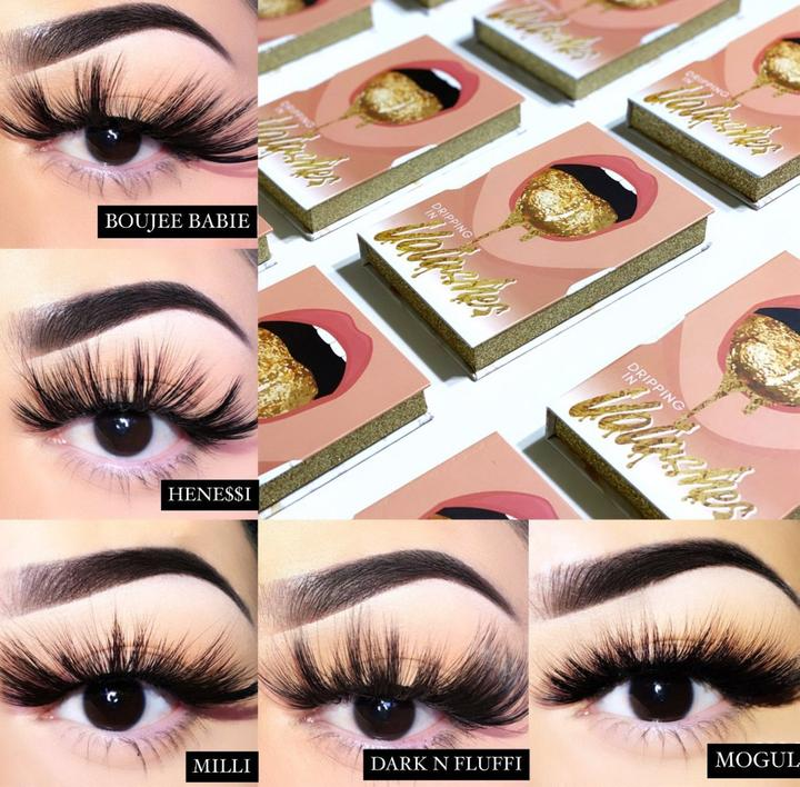 Dripping in Volashes 5 Pair Lash Book