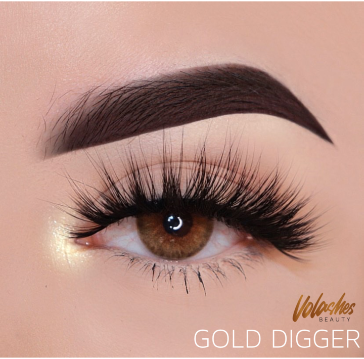 STRIP LASH STYLE: GOLD DIGGER