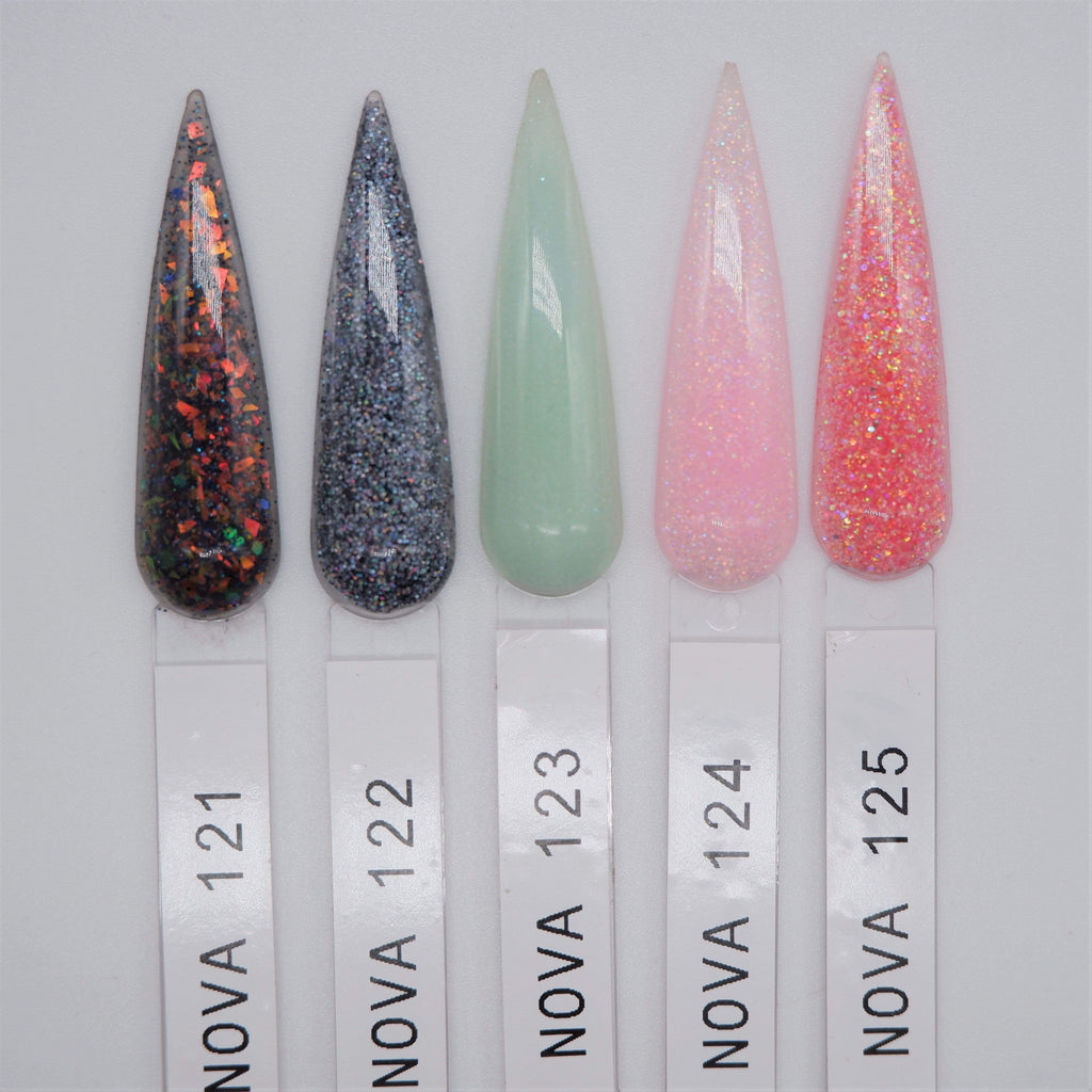 Religion Nail Supply Nova Acrylic & Dipping Powder #121-125