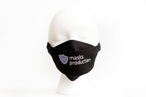 * 3D Face Mask w/ Adjustable Straps