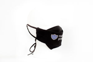 * 3D Face Mask w/ Adjustable Straps and Filter Pocket