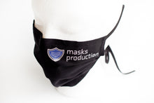 Load image into Gallery viewer, * Pleated Face Mask w/ Adjustable Straps, Removable Nose Bridge, and Filter Pocket