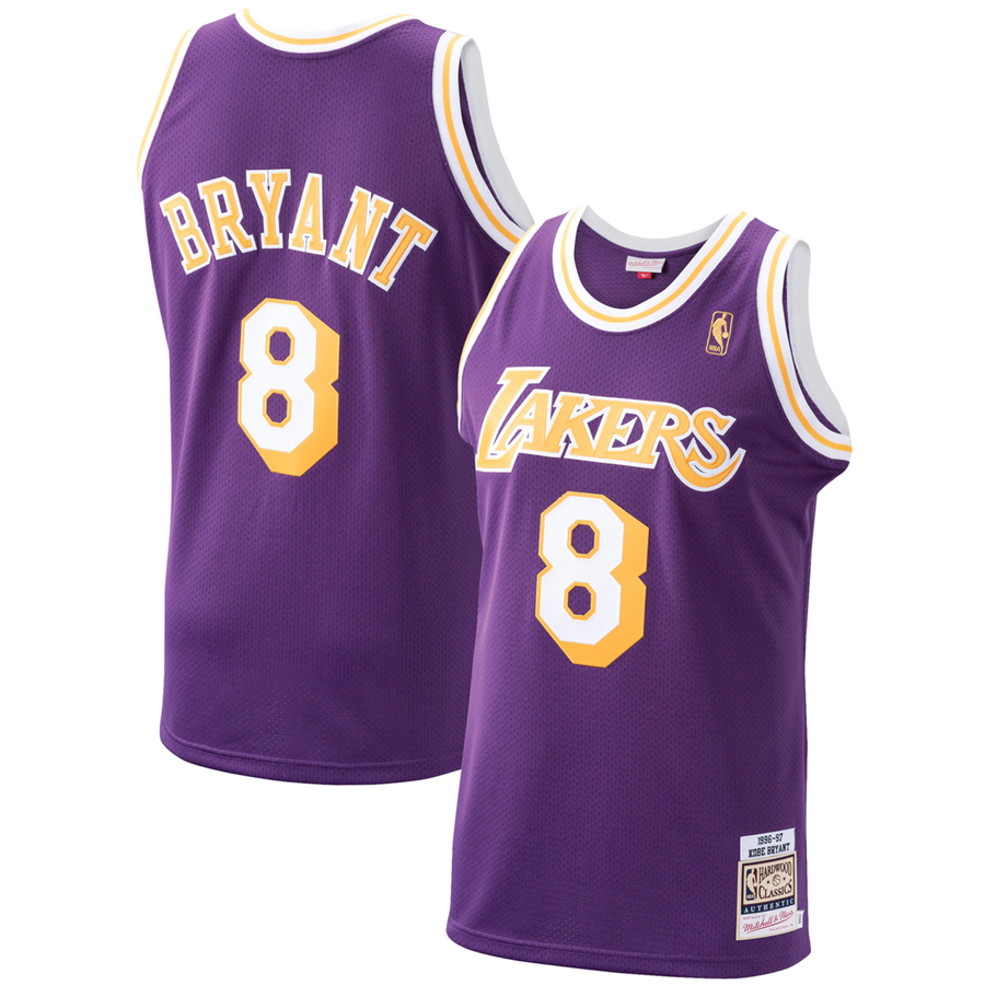 S XXL NEW Los Angeles Lakers #32 Earvin Johnson Basketball Jersey Size