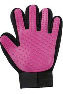 Silicone dog grooming gloves