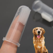 Load image into Gallery viewer, Silicone dog tooth brush