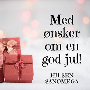 God jul, hilsen SanOmega.