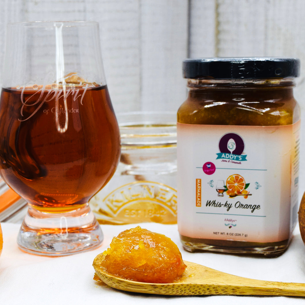 Addy's Orange Marmalade featuring 12 year old Single Malt Scotch Whisky