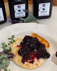 Addy's Blackberry Lavender Private Reserve Jam