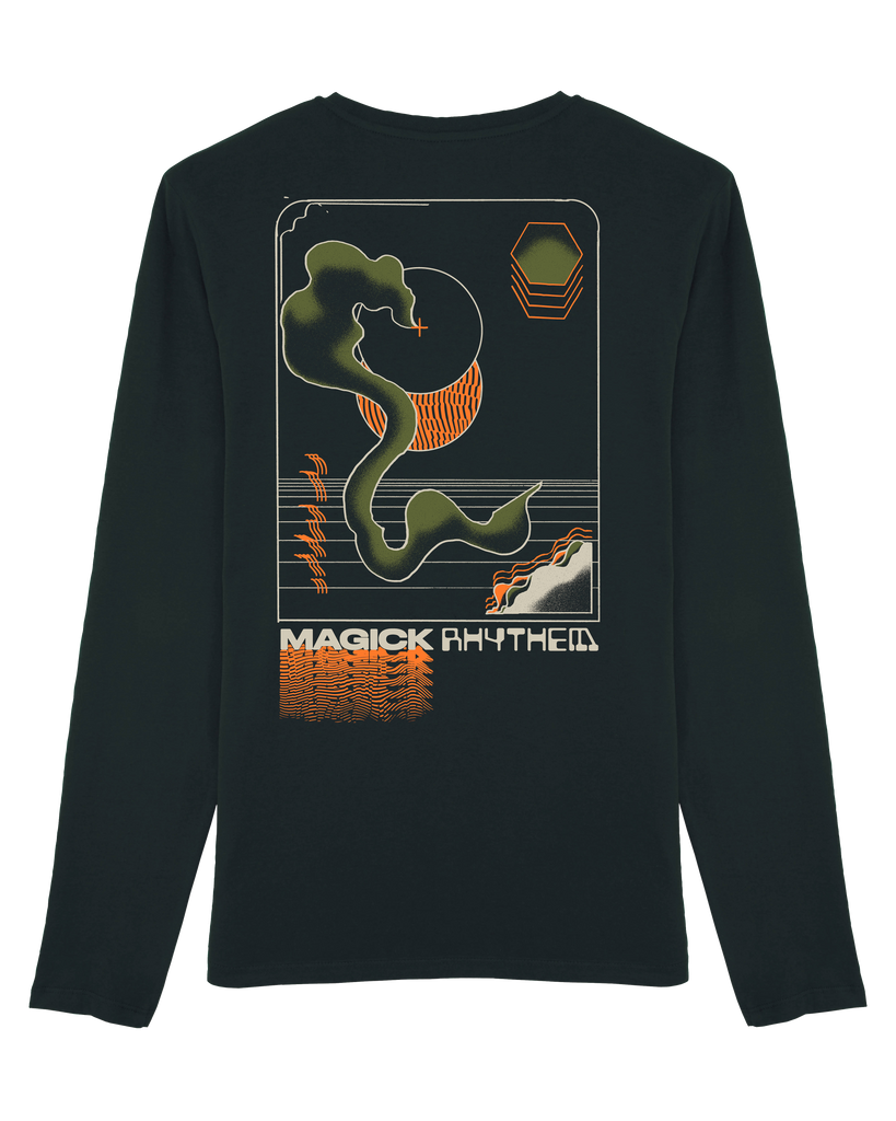 Magick Rhythem, Long Sleeve - Patrick Savile - The Illustrated Mind