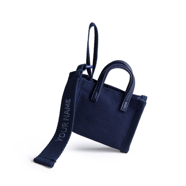 ESTELA BAG TAG - NAVY