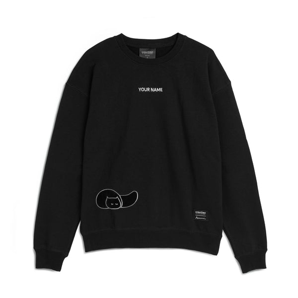 Furry Sweatshirt 73 - Black