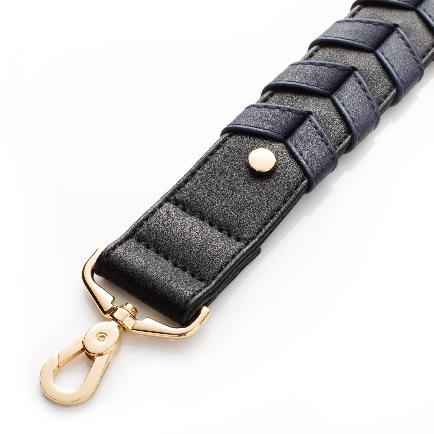 Braided Strap - Navy