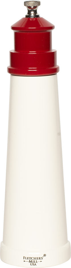 Fletchers' Mill Lighthouse 9in. Salt or Pepper Mill