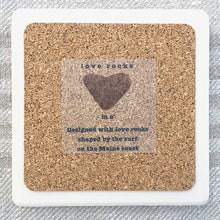 Load image into Gallery viewer, Love Rocks Me Trivet - Heart