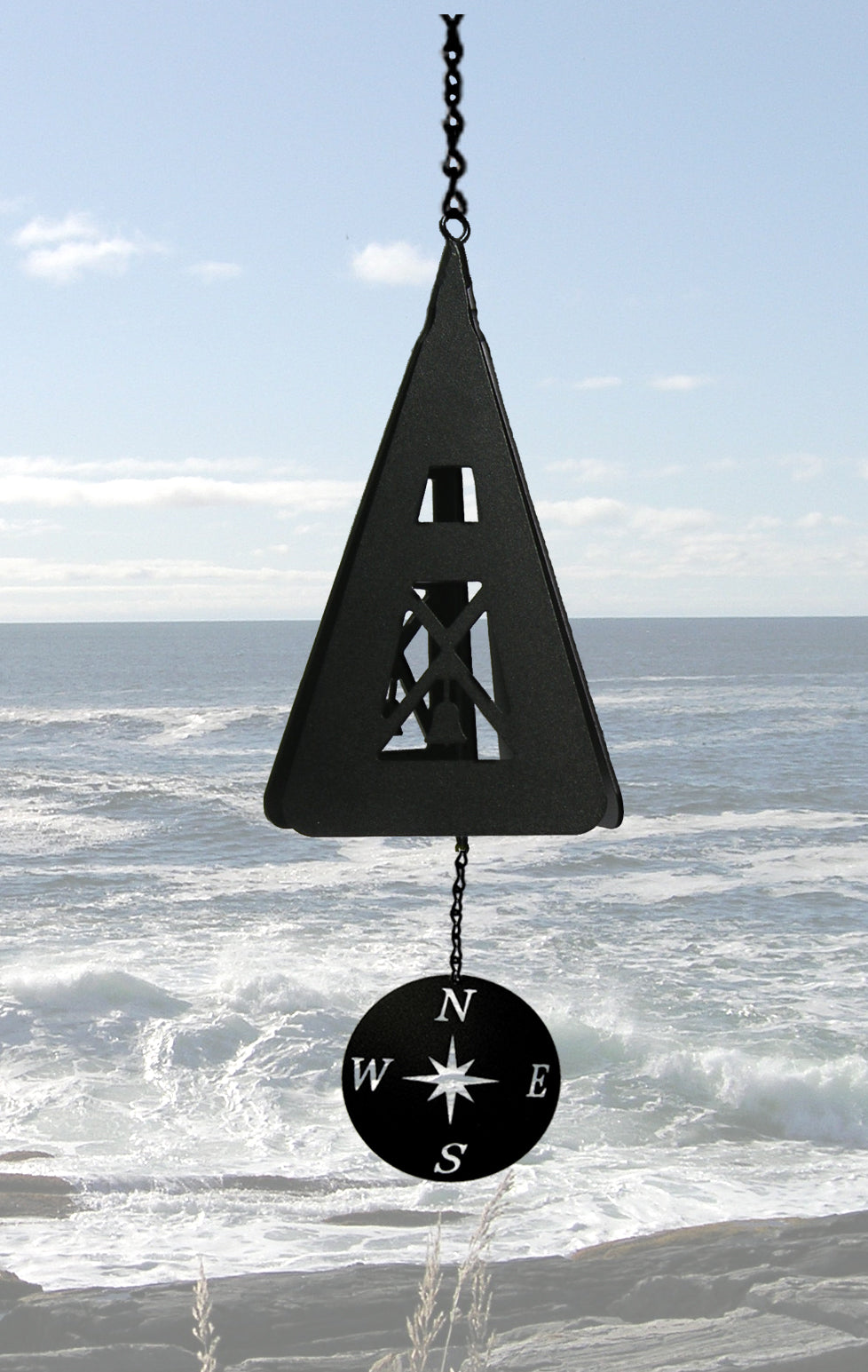 North Country Compass Rose Bell