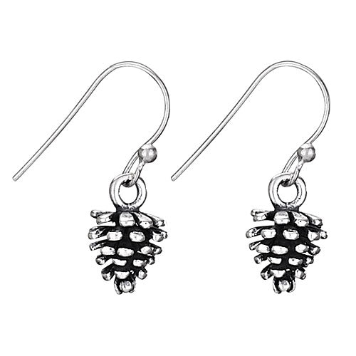 Tiger Mountain Pine Cone Earrings