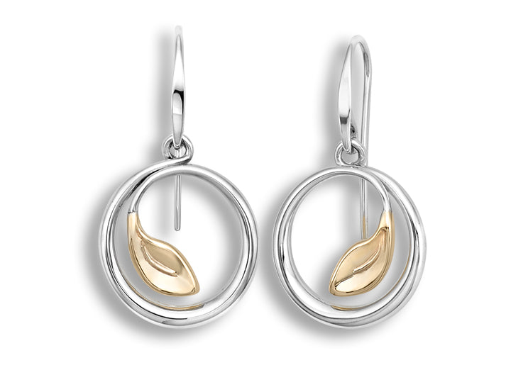 Ed Levin Be Leaf Earrings