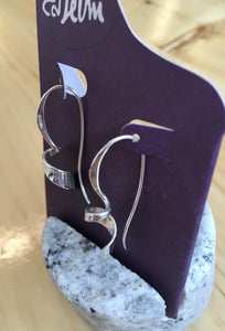 Ed Levin Corkscrew Earrings