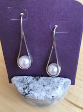 Load image into Gallery viewer, Ed Levin Pearl Drop Earrings
