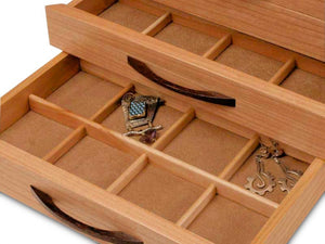Cherry Blossom Jewelry Box - 2 Drawer