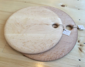 Birdseye Maple Circular Board