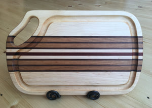 "Mystic Woodworks 10"" x 16"" Carving Board"