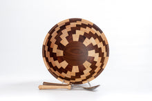 Load image into Gallery viewer, Coppola Segmented Bowl: Walnut & Maple