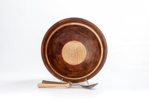 Coppola Signature Bowl: Walnut & Maple