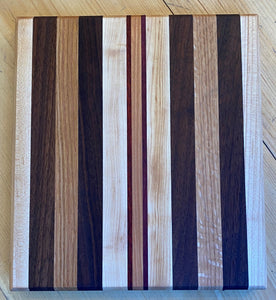 "Cutting Board: 9"" x 10"""