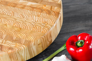 Larch End Grain - Chef's Block
