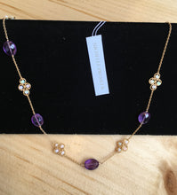 Load image into Gallery viewer, Michelle Pressler Opal & Amethyst Necklace