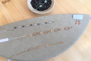 Michelle Pressler Grey Diamond Bracelet