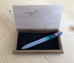 Engraved Jewelry Box and Forever File
