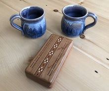 Load image into Gallery viewer, Cribbage Set & Pair of Mugs