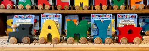 NameTrain: 3 Letter Name with Engine, Caboose