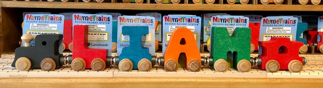 NameTrain: 4 Letter Name with Engine, Caboose