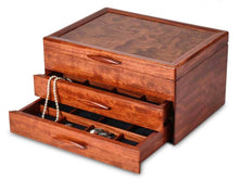 Load image into Gallery viewer, Prairie II Jewelry Box - 2 Drawer