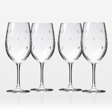 Load image into Gallery viewer, Sailing Wineglasses - set of 4 (or more!)