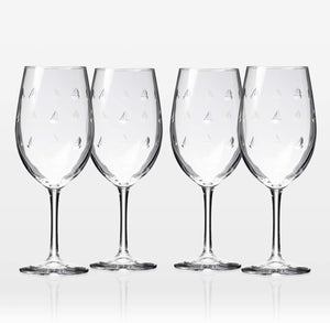 Sailing Wineglasses - set of 4 (or more!)