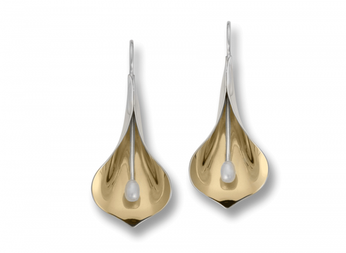 Ed Levin Calla Lily Earrings