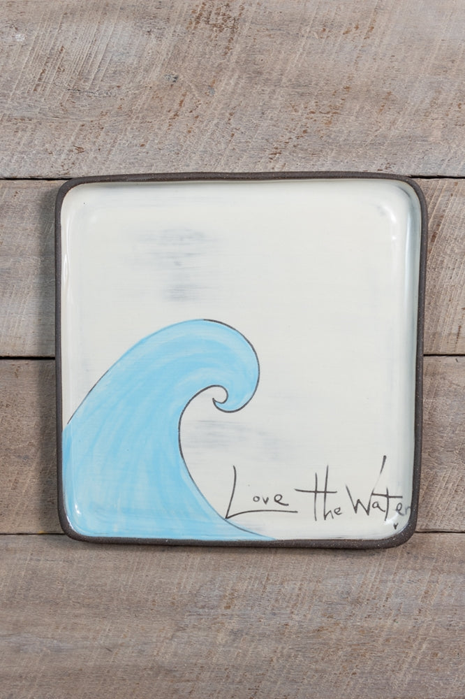 ZPots Love the Water Plates (two sizes)
