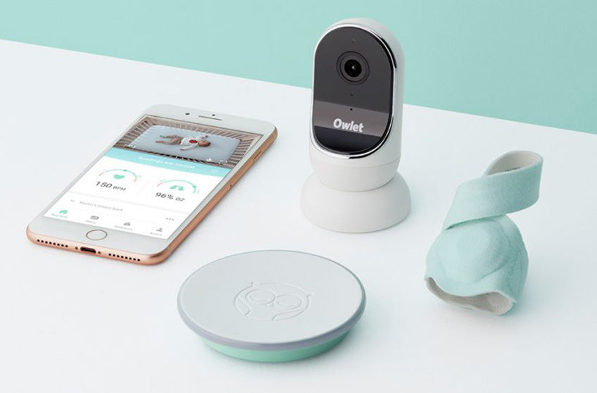 Monitor Your Sleeping Baby with Owlet