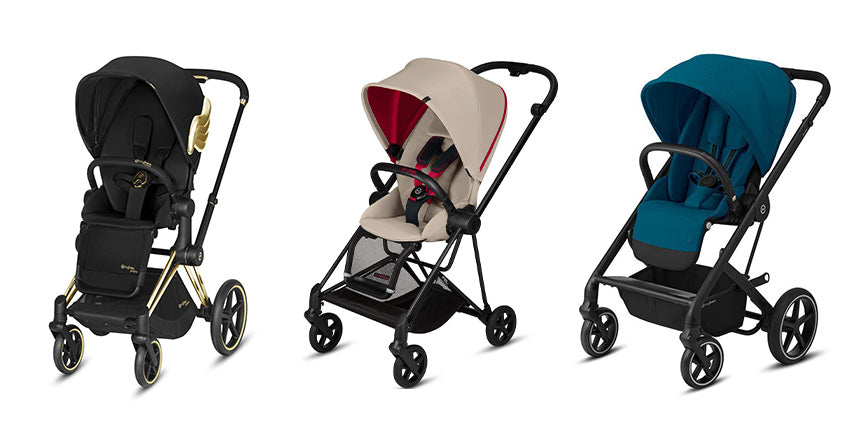 Cybex pushchairs