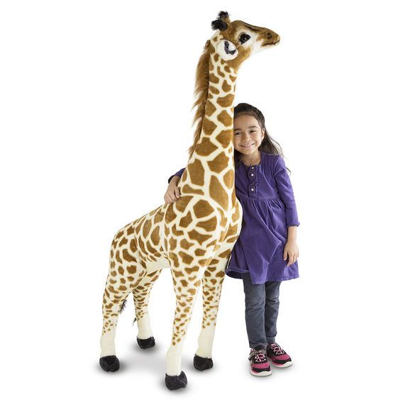 Giraffe Giant Stuffed Animal - Beautiful Bambino
