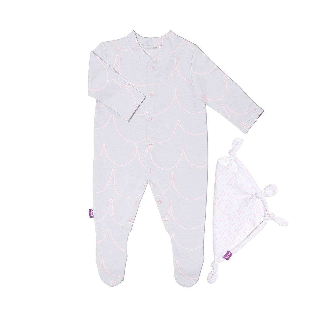 Snuz Sleepsuit & Comforter Set - Wave Rose - Beautiful Bambino