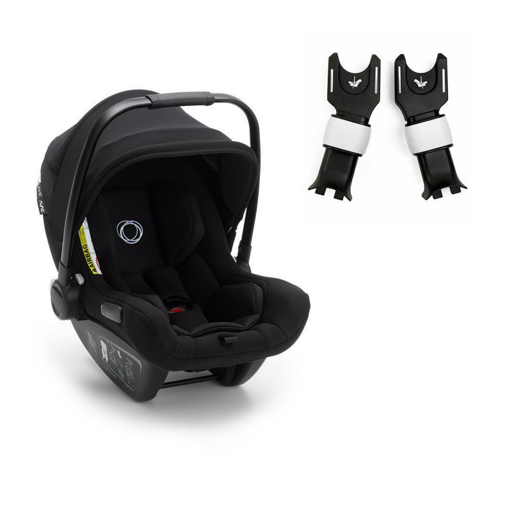 Bugaboo Turtle Air by Nuna Car Seat & Cameleon3 Adapters - Black