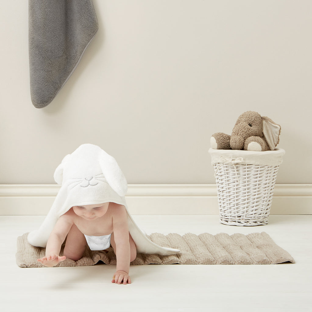 Organic Hooded Towel - Bunny