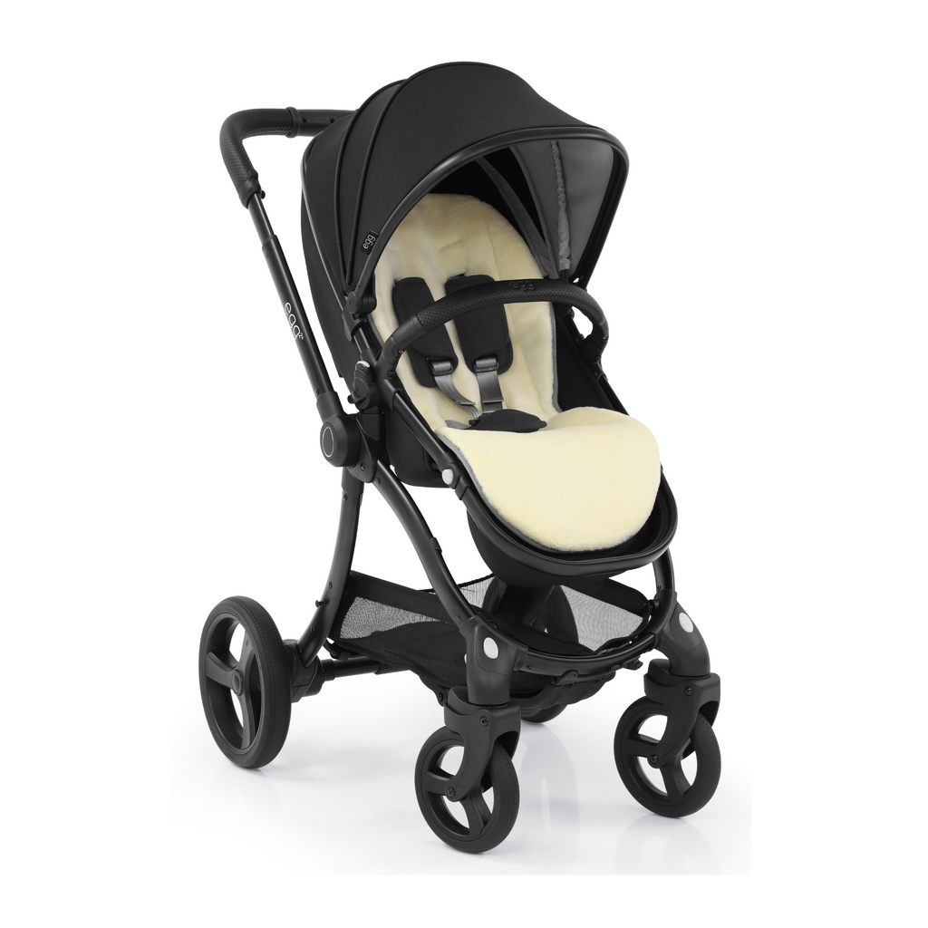 Egg2 Complete 3-in-1 Pushchair - Just Black