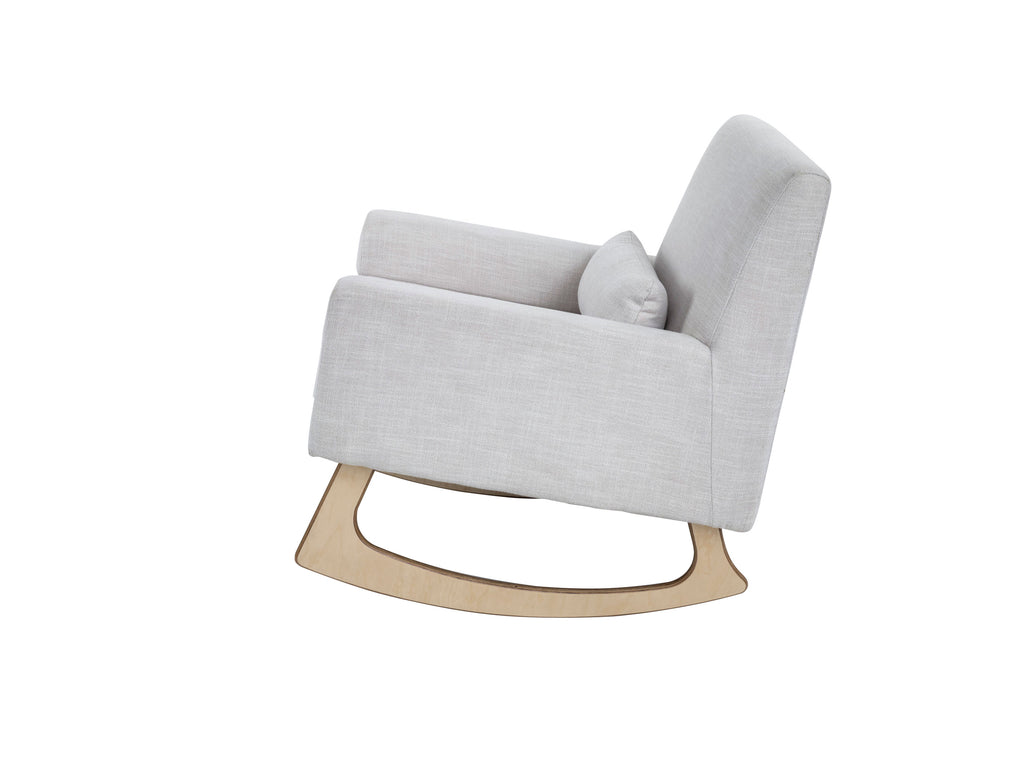 Gaia Baby Serena Rocking Chair - Oat - Beautiful Bambino