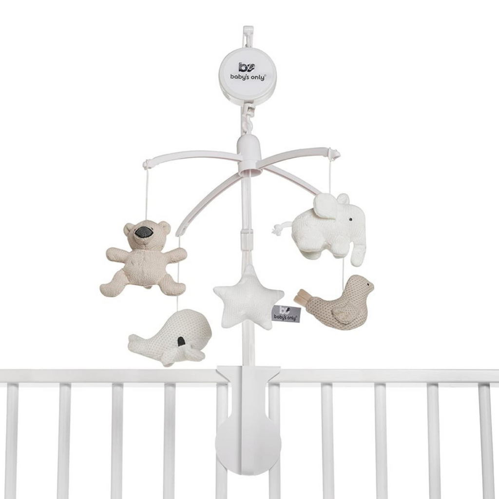 Baby's Only Musical Mobile - Sand/Woolwhite/White